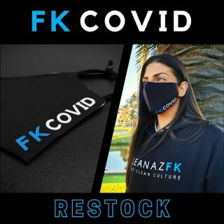 FK C0VID Face Mask RESTOCK! 😛 it's the only way to stay safe af🤙🏼   ☑️ Unisex Adult Mask ☑️ Adjustable elastic ear loops ☑️ Antimicrobial Outer Layer ☑️ Reusable + Washable + Breathable  You legends cleaned us out in less than 24 hours last time so we are bringing them back for a LIMITED TIME ONLY 😷  Link in bio to cop your FK C0VID Face Mask🖕🏼 !!!   #cleanazfk #cleanaf #crazycleanculture #cleanaz #cleanculture #facemask #apparel #customapparel #newapparel #basicapparel #apparelbrand #teamapparel #mask #afterpay #hummpay #automotiveapparel #buynowpaylater