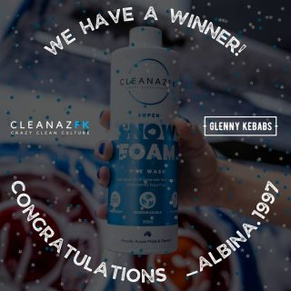 🔥 WE HAVE A WINNER 🔥  Congratulations @_albina.1997 🥳 you have won all of these goodies 👇🏼  1x 500ml Super Snow Foam 1x CleanazFK Tee 1x CleanazFK Decal 1x CleanazFK Air Freshener  A MASSIVE THANK YOU to everyone that entered the giveaway! Stay tuned as we will be doing more giveaways soon 🤩🤙🏼