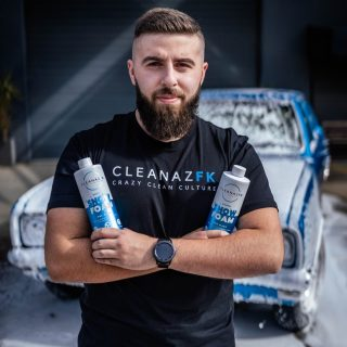 Double trouble 💦💦  Get yo self some Super Snow Foam Pre-Wash or a tee from our online store 👌🏼 link in bio!   @riccardo._cosentino @visionmediia   #cleanazfk #crazycleanculture #crazyclean #cleanfreaks #snowfoam #snowfoamwash #snowfoamsunday #carcleaning #carwash #prewash #detailing #detailingaddicts #cleanaf