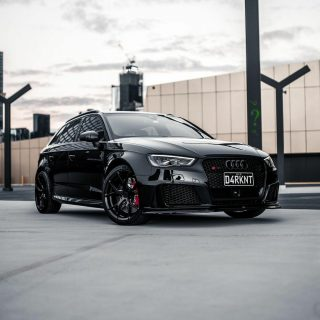 Black on black 🖤 how clean is @d4rknt_rs3 🥵  #cleanazfk #crazycleanculture #cleanculture #autocare #euro #audi #audirs3 #rs3 #audilove #audigang #audilife #drivermod #vehiclevirgins #theartofdetailing #camber #audiaddicts #quattrolove #carlove #letsgoplaces